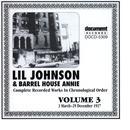 Lil Johnson & Barrelhouse Annie Vol. 3 1937 thumbnail