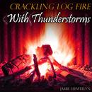 Crackling Log Fire with Thunderstorms thumbnail