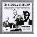 Gus Cannon & Noah Lewis Vol. 2 (1929 - 1930) thumbnail