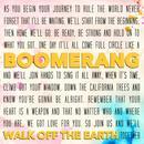 Boomerang (Single) thumbnail