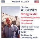 Charles Wuorinen: String Sextet; Piano Quintet; Divertimento thumbnail