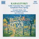 Kabalevsky: Cello Concertos Nos. 1 And 2; Symphonic Poem Spring thumbnail