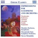 Impressions for Saxophone & Orchestra thumbnail