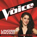 Somebody That I Used To Know (The Voice Performance) (Single) thumbnail